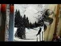 PEINTURE FACILE: CLAIR DE LUNE par Nelly LESTRADE