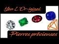Les pierres précieuses : Diamant, émeraude, rubis et saphir