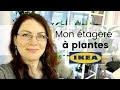 Vlog Plantes - Ma nouvelle plantathèque   l'étagère IKEA pour ma collection de plantes