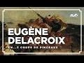 3 coups de pinceau : Delacroix