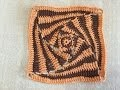 Tuto motif spiral au crochet