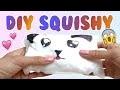 DIY Squishy sans mousse, éponge ou papier