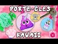 PORTE CLE KAWAII ANIMAUX DIY FACILE