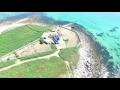 Vol drone lilia Plouguerneau, st Cava, phare de l'ile Wrach