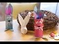 Bricolage de Pâques DIY : Lapin de Pâques garni de chocolats