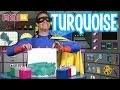 Super Mini crée des couleurs : Turquoise