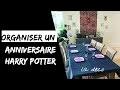 Anniversaire Harry Potter - 13 idées de décoration