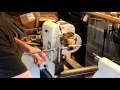 Systeme de percage transversal pour tour à bois | Side drilling on the lathe