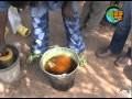 Fabrication artisanale de feuille de cire - Ekpa (Bénin)