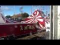 Foire d'Automne 2013 : montage du chapiteau du cirque Amar