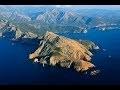 Timelapse entre Paris et Ajaccio aeroport en Corse en avion avec décollage et atterrissage