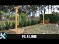 Bricolage Vlogs - Fabrication d'un Fil à linge