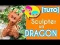 [TUTO FACILE] sculpter un dragon argile sans cuisson pottery ceramic clay