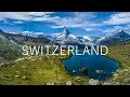 AMAZING SWITZERLAND - VALAIS [4K Aerial Footage]