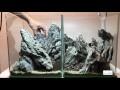 Nano aquarium : DUO aquascaping -  le hardscape - Part 1