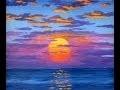 Comment Peindre Le Soleil A L'Acrylique Sur La Toile Cours Complet