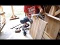 Une cabane pour chat en bois de recup !!