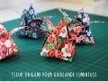 Faire une fleur en origami