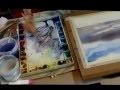 Cours Peinture Aquarelle : Tutoriel peindre un ciel à l'aquarelle
