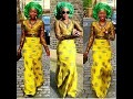 Robes africaine de soirée en wax