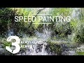 3-DÉMO ACRYLIQUE : Jungle - SPEED PAINTING