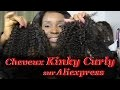 kinky Curly  Hair sur aliexpress, semblable à des cheveux crépus