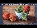 Nature morte au pastel sec