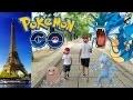 VLOG - CHASSE aux POKEMON à la TOUR EIFFEL - POKEMON GO PARIS