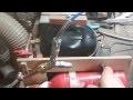 Utilisation d'une pompe à vide faite maison