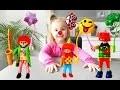 Playmobil sets 5546 et 4787 sur le thème des clowns + oeuf Timargo (unboxing)