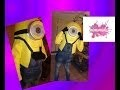 DIY.Comment faire un déguisement de MINION.//How to make a Minion costume.