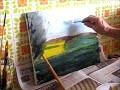 Comment peindre un paysage avec trois couleurs