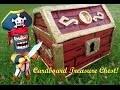 DIY Cool Pirate Treasure Chest Cardboard!
