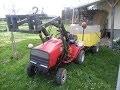 [INEDIT] Fourche Hydraulique sur un tracteur tondeuse !!