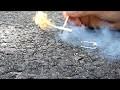 Fabriquer une mini fusée avec une allumette