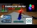 Fabrication d'un feu tricolore - Projet arduino #1 ThomasLePanda