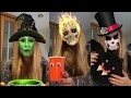 DIY/tuto Halloween fabriquer une sorcière et chauve-souris🦇en assiette en carton