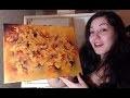 Peinture Acrylique Abstraite - Techniques de Fondus