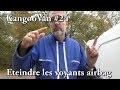 Vlog Kangoovan 24 - Eteindre les voyants airbag et serv