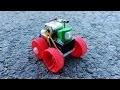 Comment faire une voiture électrique - avec 9v batterie