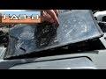 Comment démonter le compteur et câble de compteur de vitesse sur Clio 1