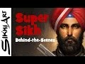 How to Paint Super Sikh, Guns, Turban and Jacket (Time Lapse + Commentary)