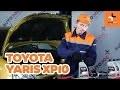 Comment remplacer des l'huile moteur et le filtre à huile sur une TOYOTA YARIS XP10