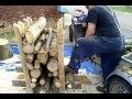 chevalet pour la découpe du bois en 50