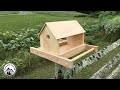 Comment fabriquer une mangeoire en bois pour les oiseaux !