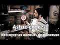Astuc'express bricolage : Nettoyer ses abrasifs de ponceuse