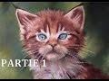 [Tutoriel n°6] Peindre un chaton au pastel sec - Partie 1