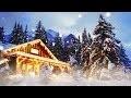 Merveilleuse musique de relaxation, relaxante et zen + chalet et neige en hiver (F. Amathy)