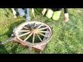 Réalisation d'une roue de charette