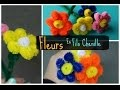 Tuto : Fleurs en fils chenille/Cure-pipe - Cleaner Pipe Flower